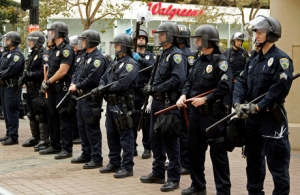 Occupy Oakland Police Officers